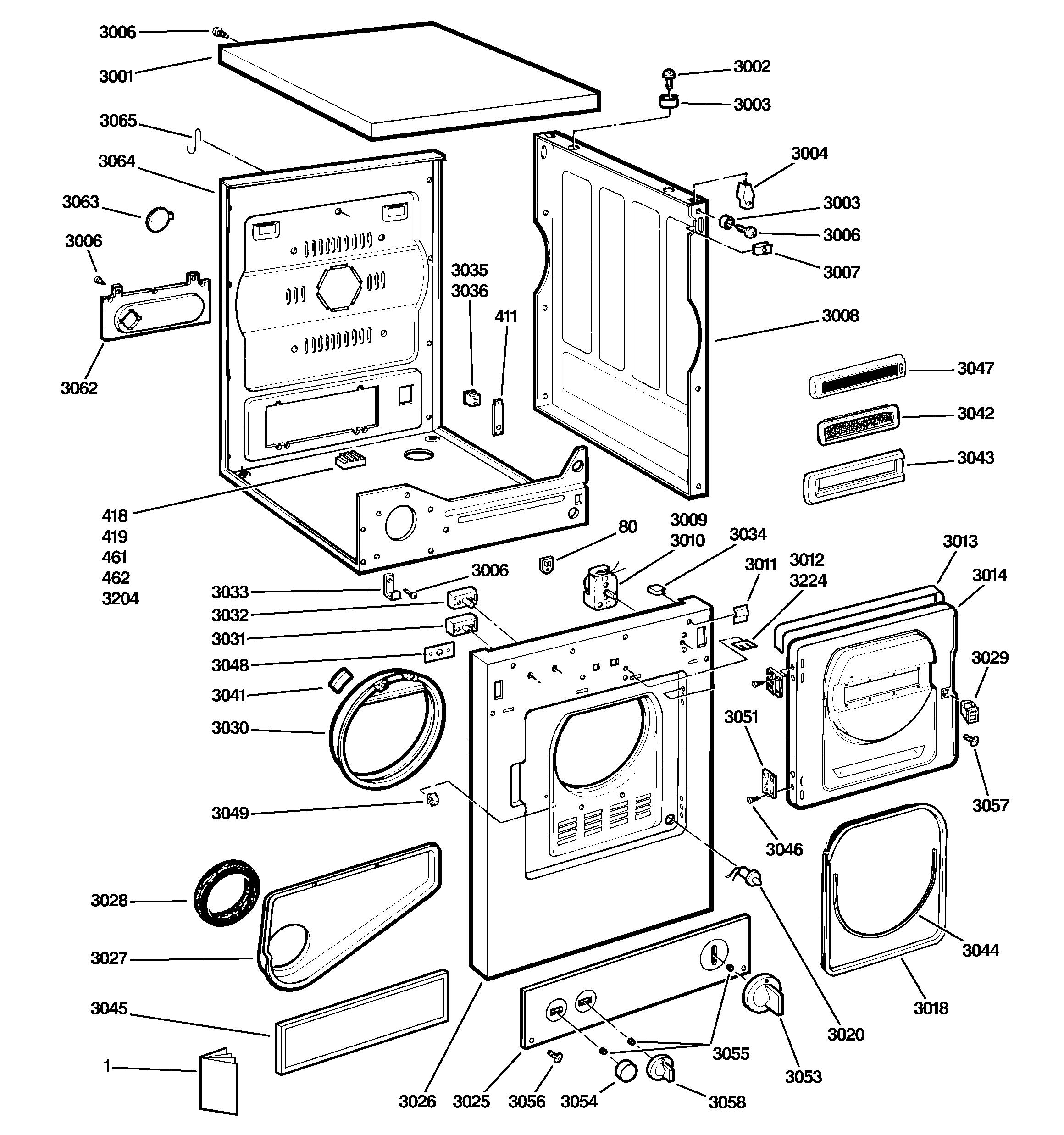 Ge Lint Filter We18M20 (Metal Screen) Partsreadyonline - Ge Dryer Wiring Diagram