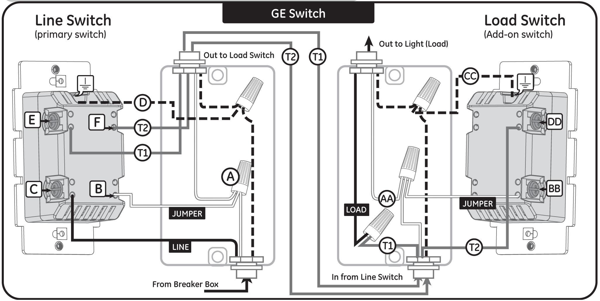 Ge Z Wave 3 Way Switch Wiring Diagram | Wiring Diagram - Ge Z Wave 3 Way Switch Wiring Diagram