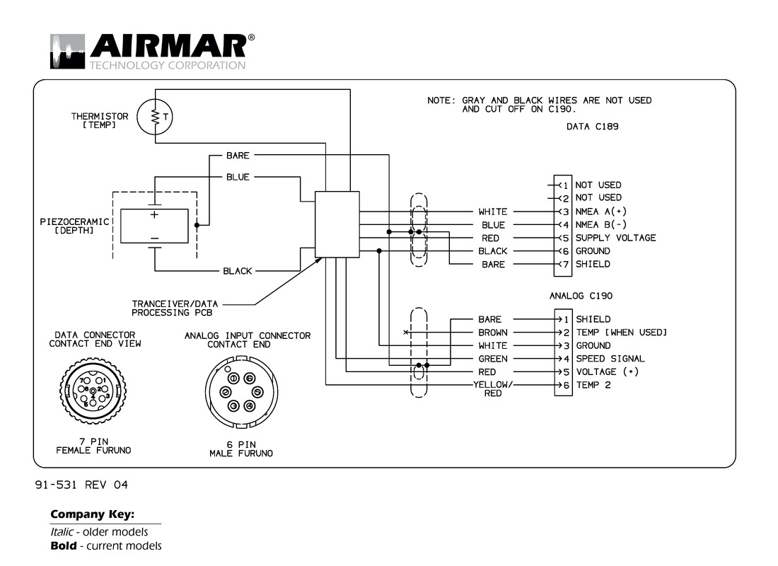 Gemeco | Wiring Diagrams - Aux Cord Wiring Diagram