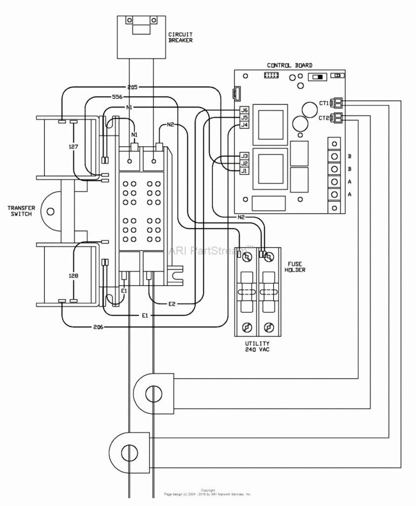 Generac 200 Amp Transfer Switch Wiring Diagram Beautiful Generac - Generac Automatic Transfer Switch Wiring Diagram