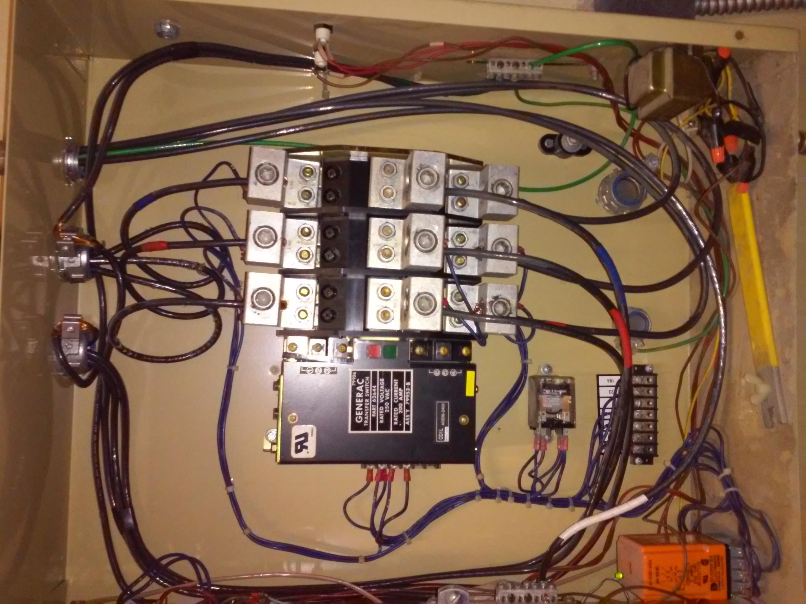 Generac Rts Transfer Switch Wiring - Wiring Diagram Detailed - Generac Manual Transfer Switch Wiring Diagram