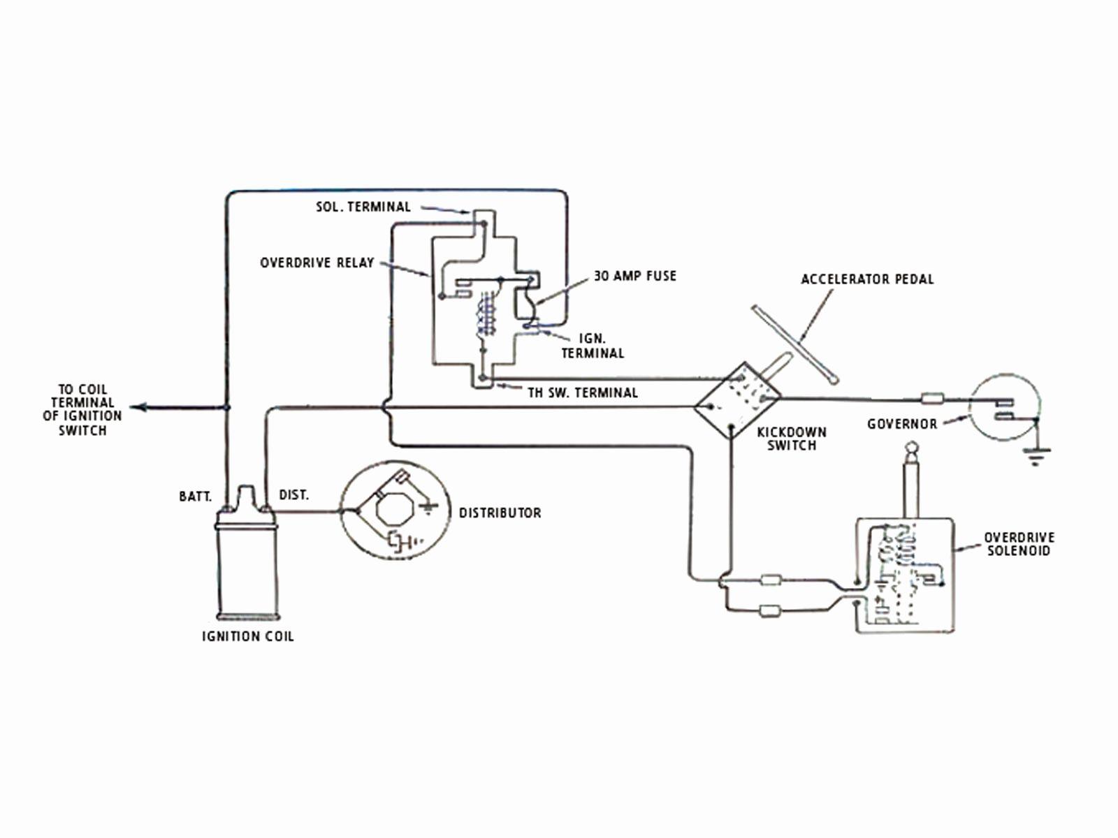 General Motors Wiring Diagram Lovely Borg Warner Overdrive Hot Rod - General Motors Wiring Diagram