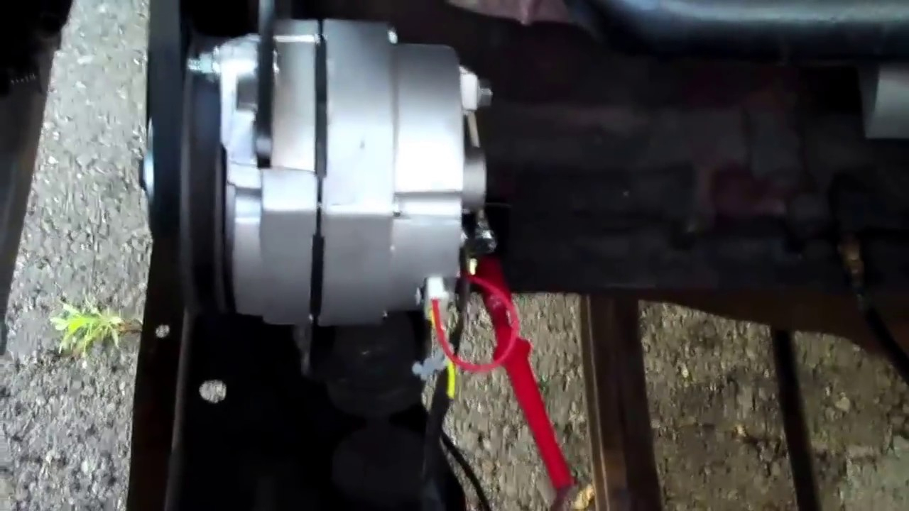 Generator To Alternator Coversion - Youtube - 12 Volt Ignition Coil Wiring Diagram