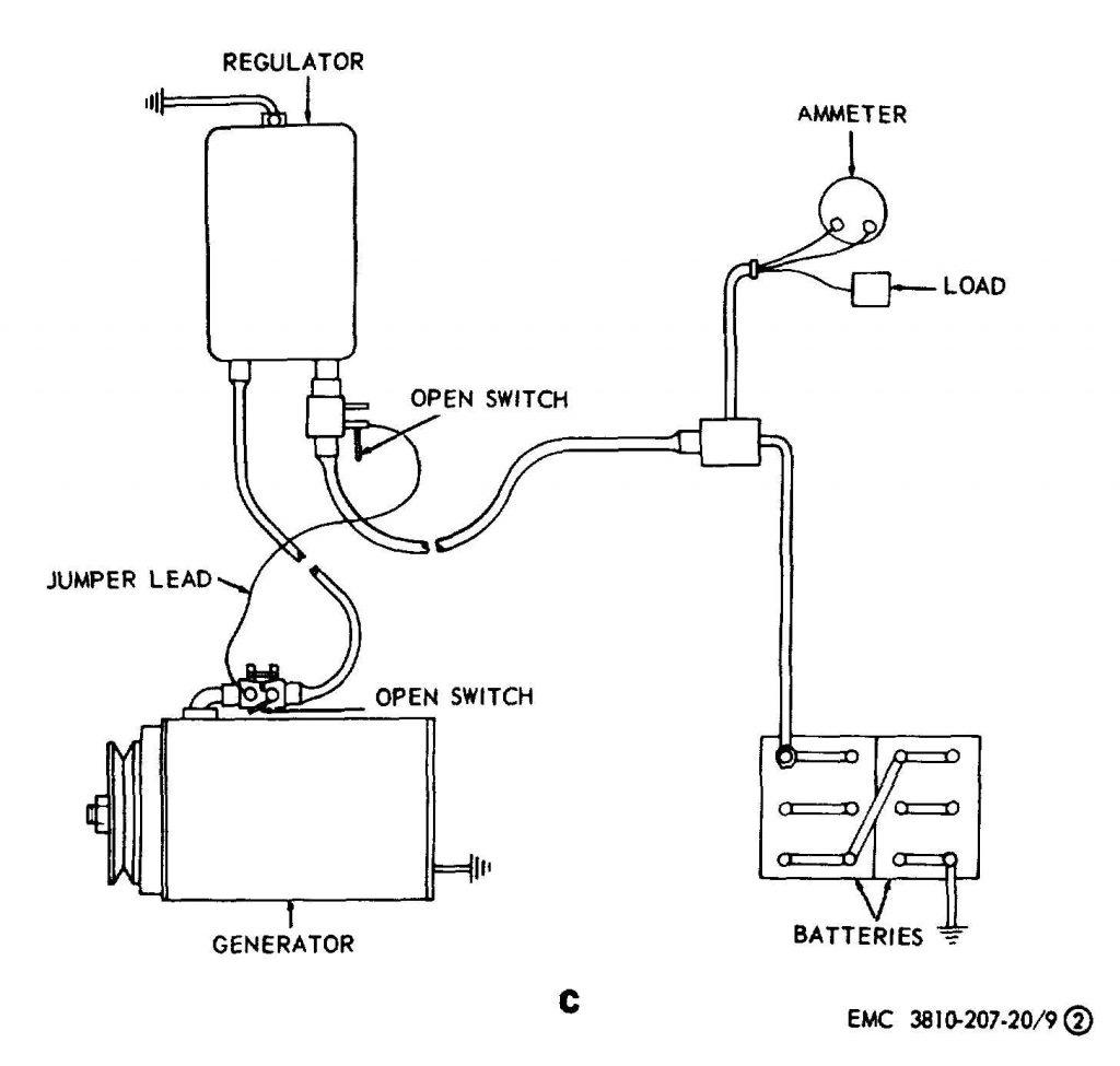 Generator Voltage Regulator Wiring Diagram   Manual E Books   12 Volt Generator Voltage Regulator Wiring Diagram