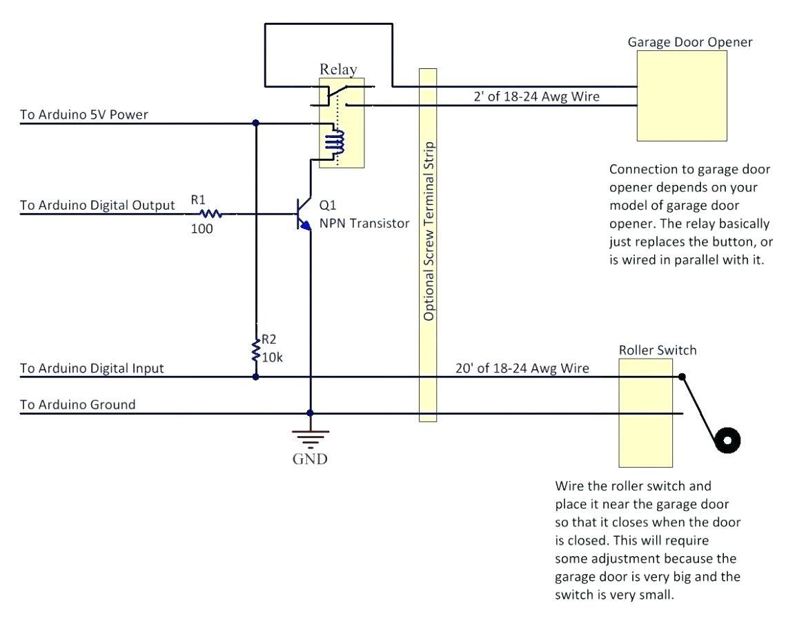 Genie Garage Wiring Safety Laser - Great Installation Of Wiring - Genie Garage Door Sensor Wiring Diagram