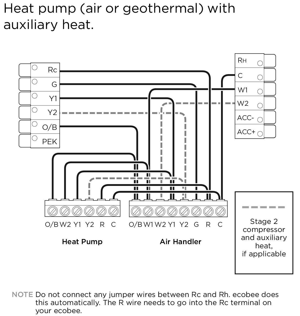 Geothermal Heat Pump Wiring Diagram | Manual E-Books - Heatpump Wiring Diagram