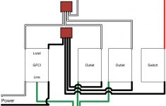 Gfci Light Wiring Diagram   Wiring Diagram Name   Gfci Outlet With Switch Wiring Diagram