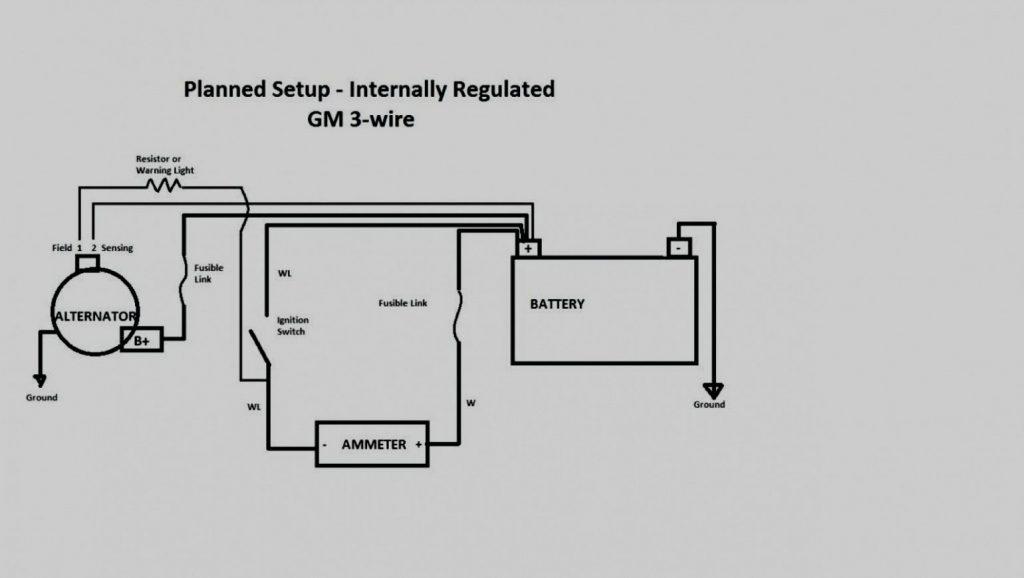 Gm 1 Wire Wiring | Wiring Diagram   1 Wire Alternator Wiring Diagram