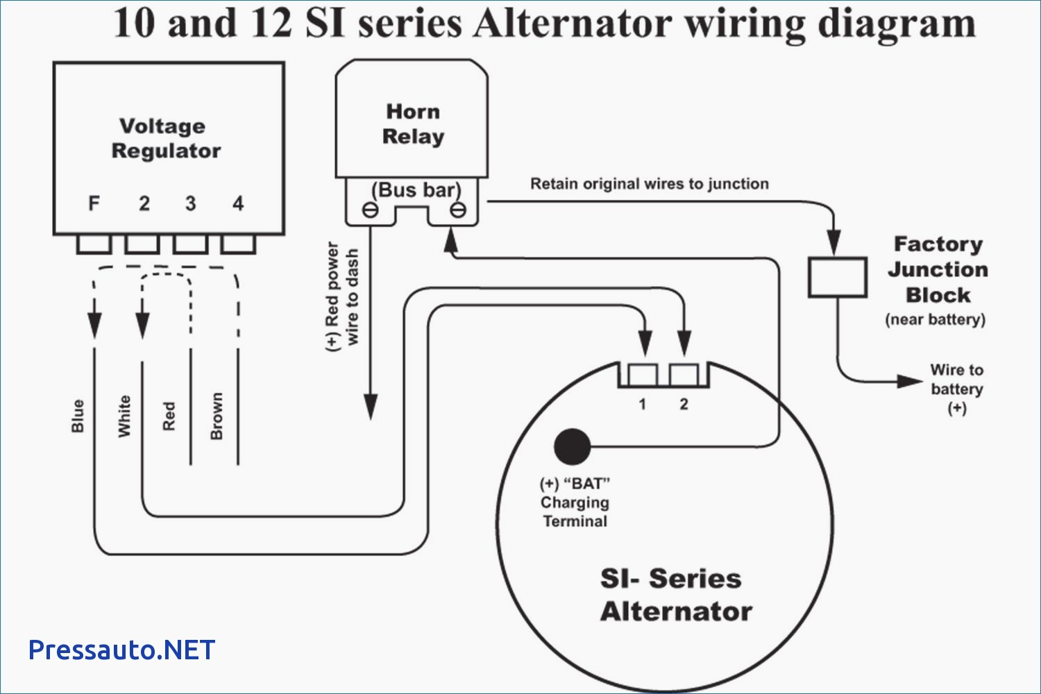 Gm 2 Wire Alternator Wiring Diagram 1 Hook And For Gm Alternator - Gm 2 Wire Alternator Wiring Diagram