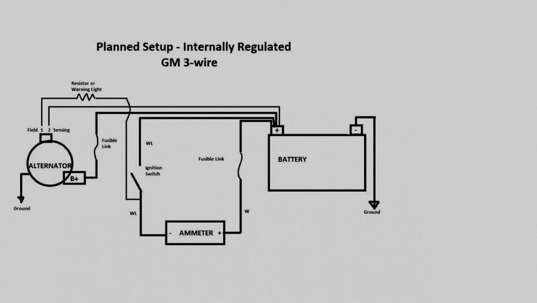 Gm 3 1 Wiring | Wiring Diagram - Gm 2 Wire Alternator Wiring Diagram