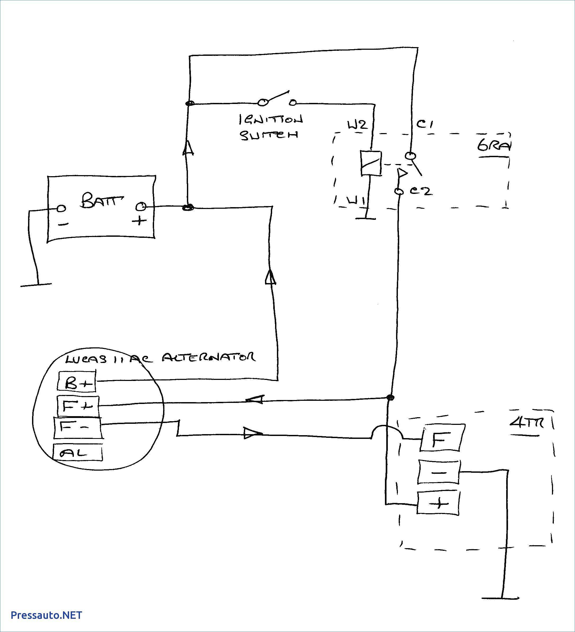 Gm 4 Wire Alternator Wiring Diagram Best Of Gm 2 Wire Alternator - Gm 2 Wire Alternator Wiring Diagram