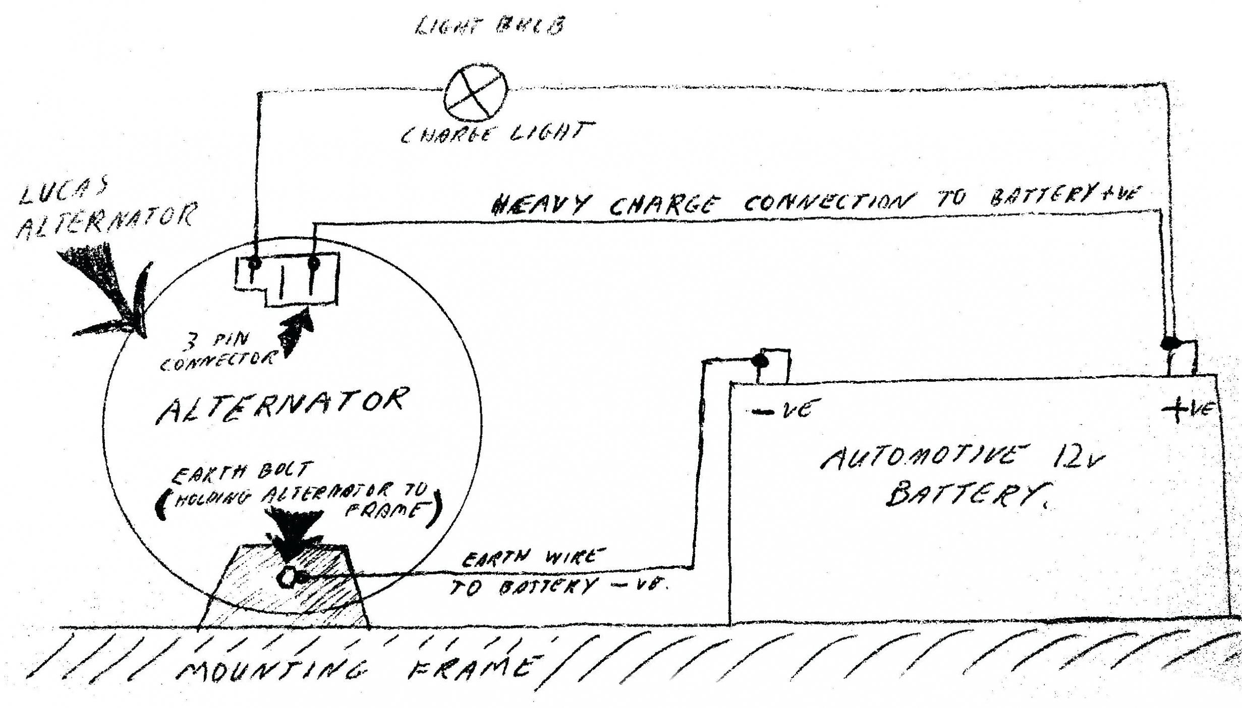 Gm Alternator Wiring Diagram Internal Regulator New Gm Alternator - Delco Alternator Wiring Diagram