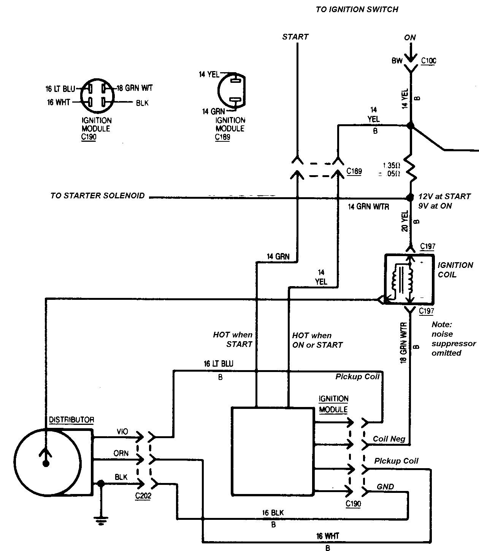 Gm Ignition Module Wiring Diagram - Wiring Diagram Explained - Ford Ignition Control Module Wiring Diagram