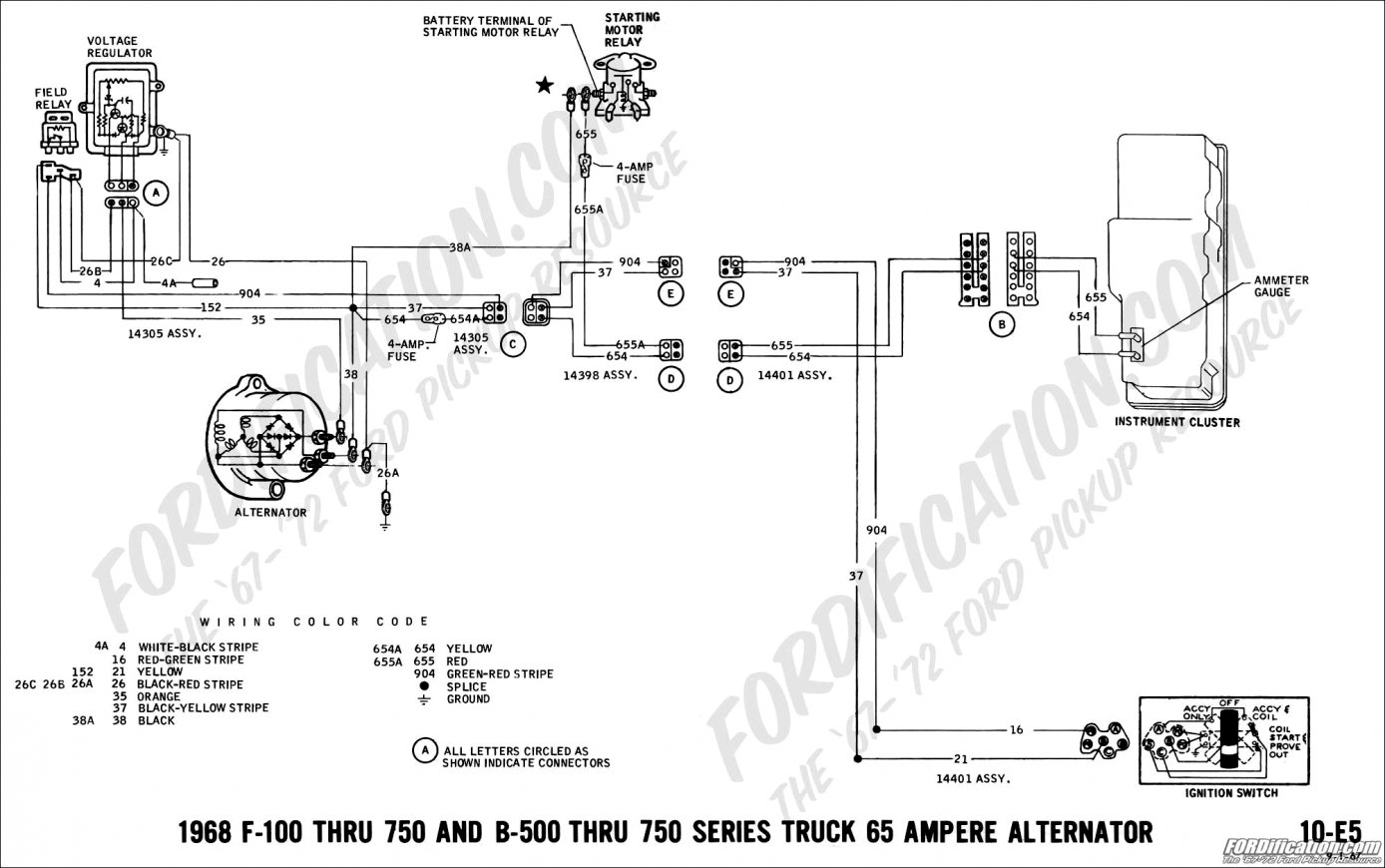 Gm Internally Regulated Alternator Wiring Diagram   Manual E-Books - Gm Alternator Wiring Diagram Internal Regulator
