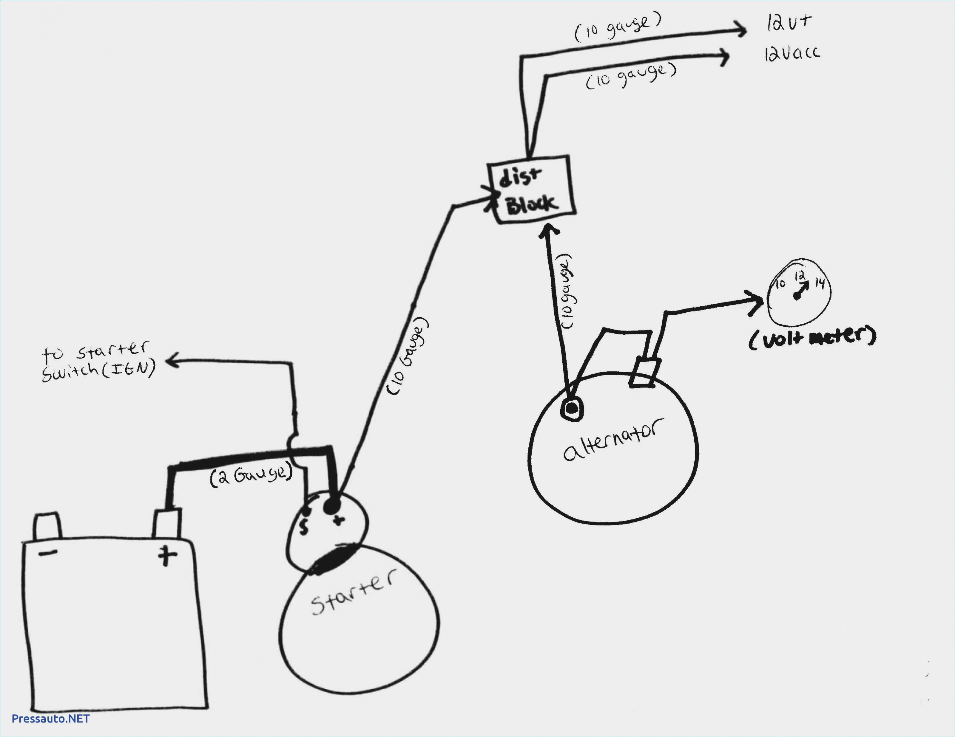 Gm Single Wire Alternator Diagram - Wiring Diagrams Hubs - Gm 1 Wire Alternator Wiring Diagram