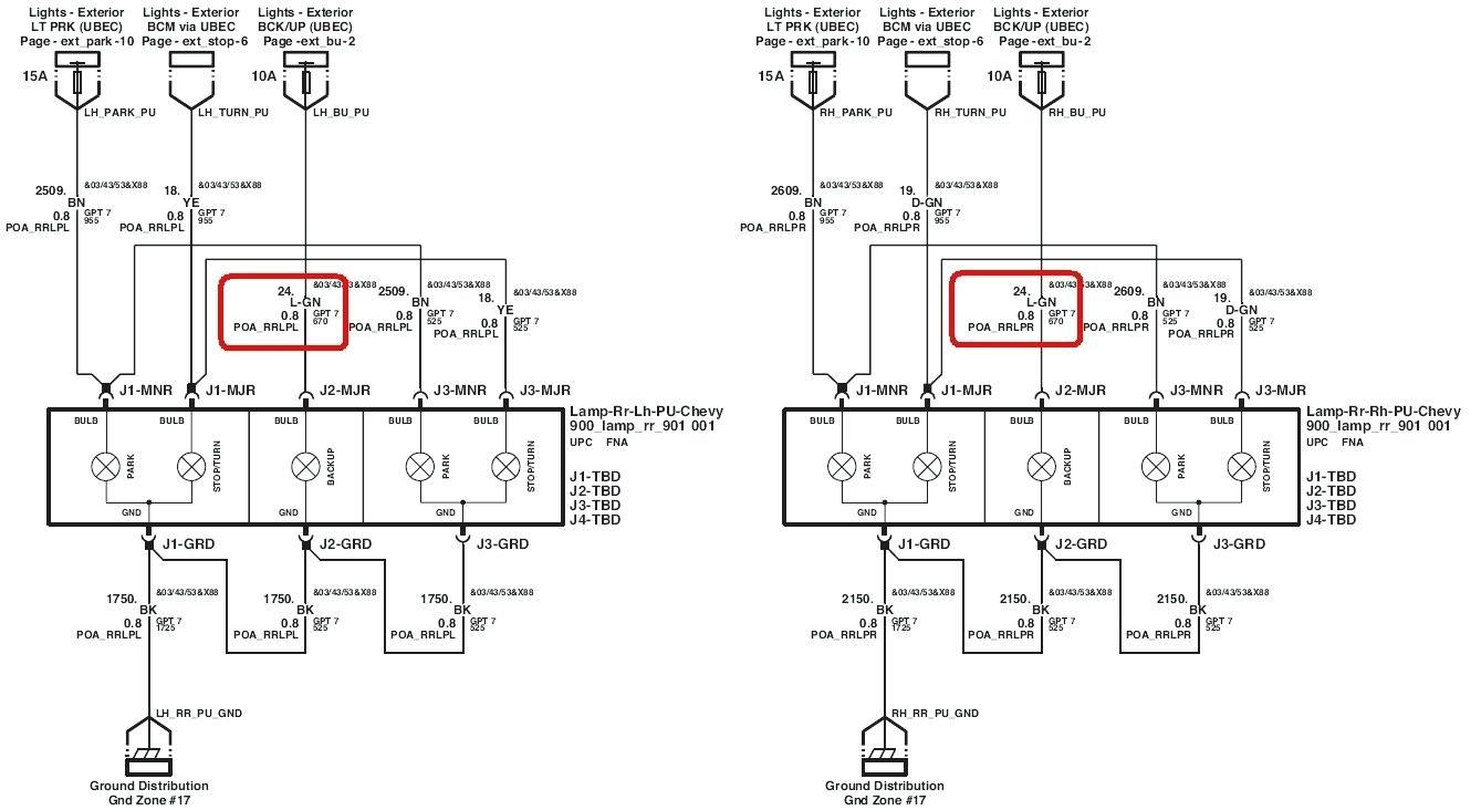 Gm Trailer Harness   Wiring Library - 2003 Chevy Silverado Trailer Wiring Diagram