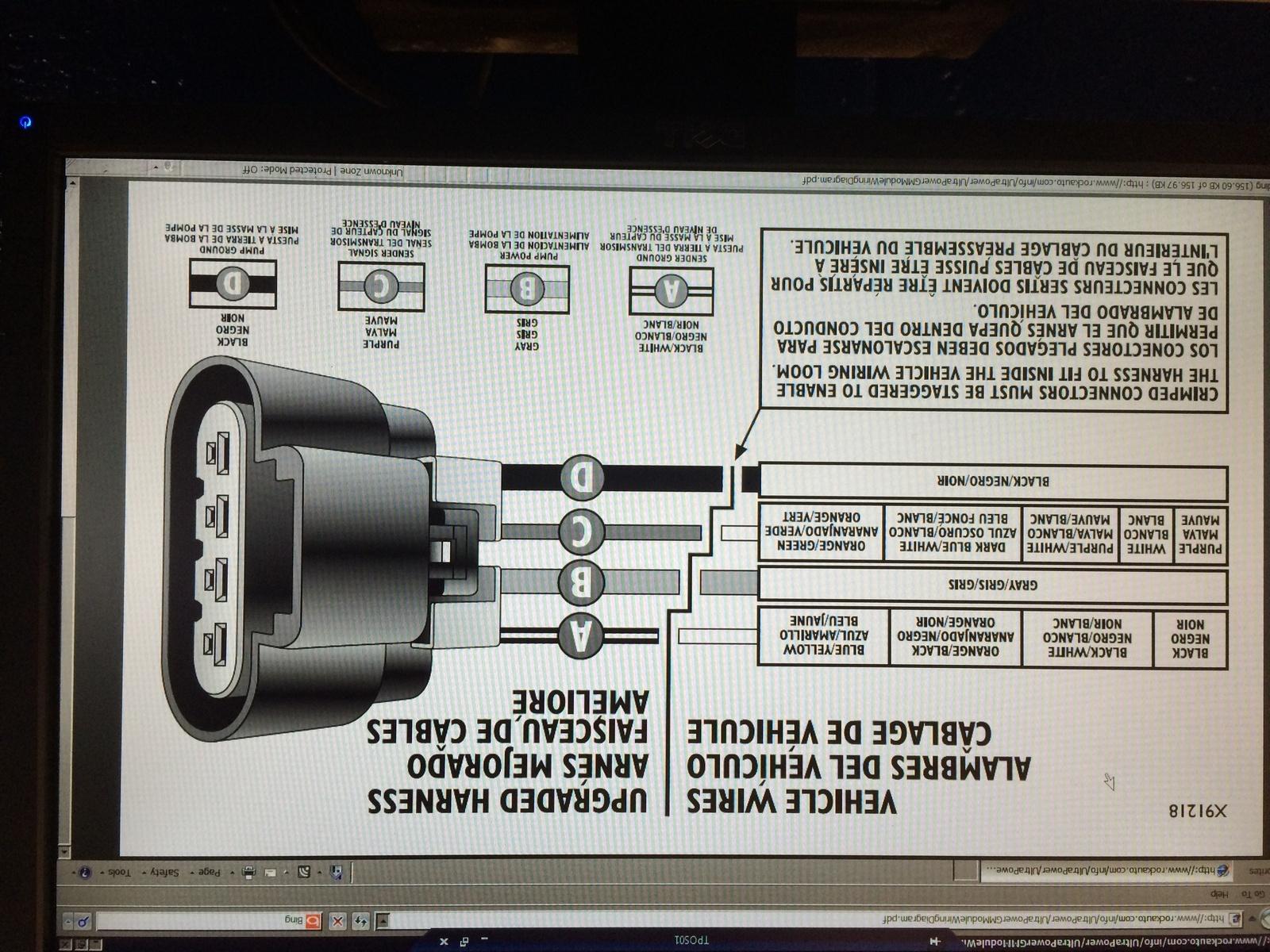 Gmc Sierra 1500 Questions - Fuel Pump Not Engaging On 1998 Gmc K1500 - 1993 Chevy 1500 Fuel Pump Wiring Diagram