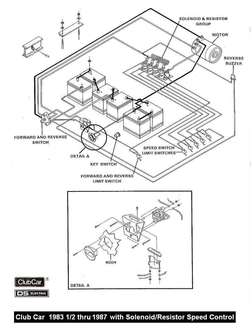 Golf Cart 36 Volt Wiring For Headlights | Wiring Diagram - 36 Volt Club Car Golf Cart Wiring Diagram
