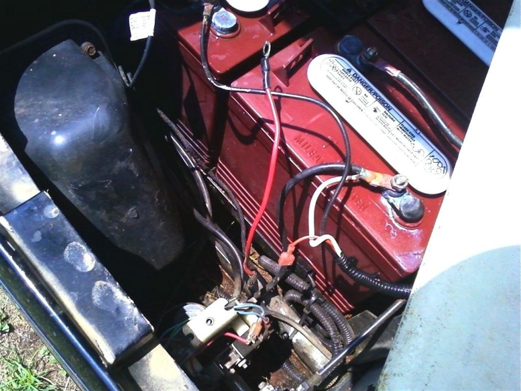 Golf Cart Battery Wiring Diagram Ez Go   Manual E-Books - Ez Go Golf Cart Battery Wiring Diagram