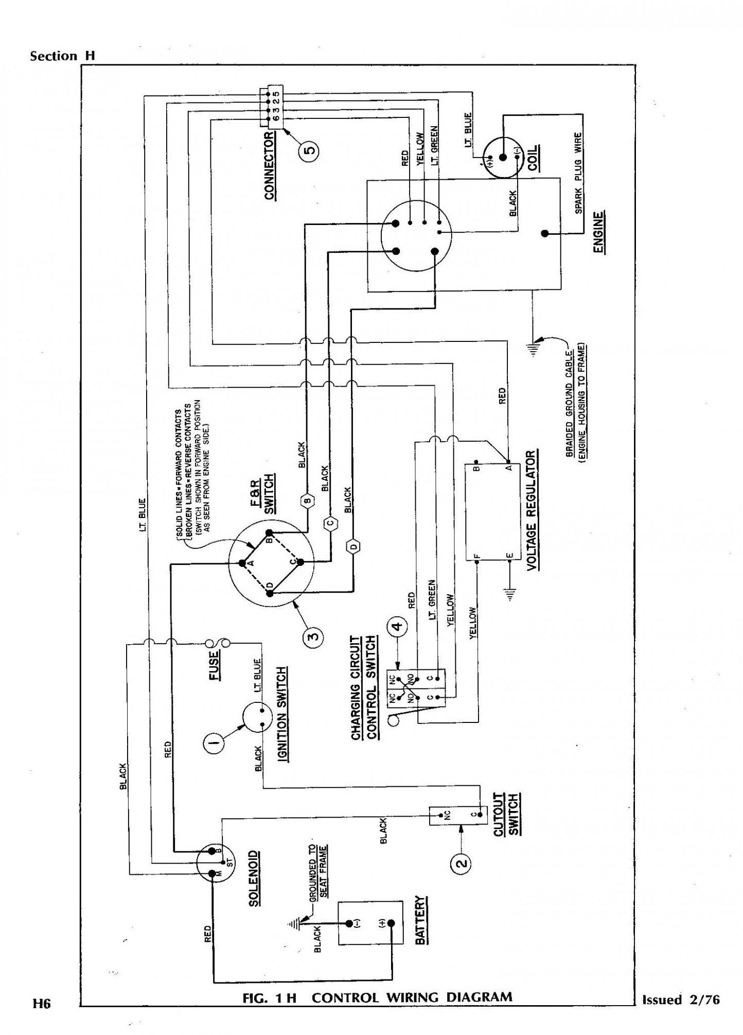 Golf Cart Switch Wiring Diagram | Wiring Diagram - Ezgo Forward Reverse Switch Wiring Diagram