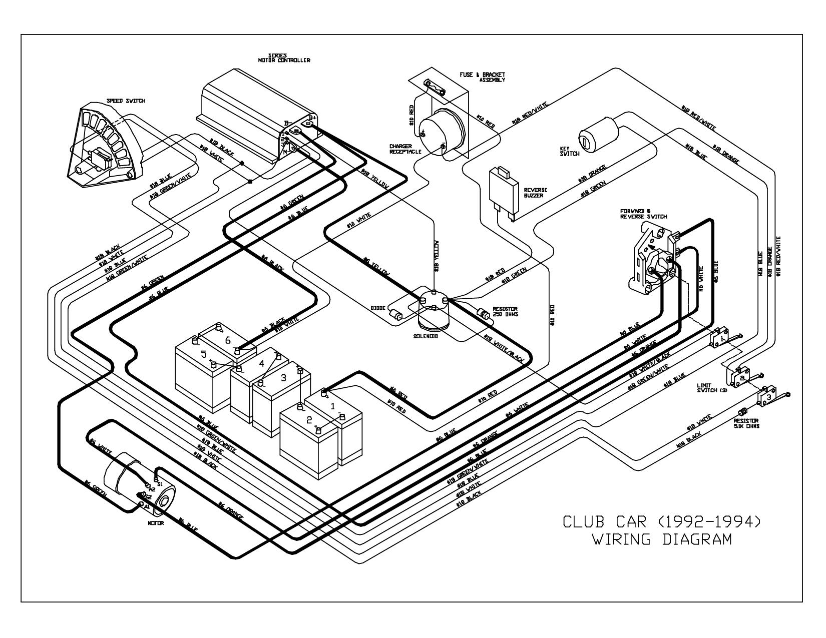 Golf Cart Wiring Diagram Club Car In 36 Volt And Jpg With Club Car - Club Car Wiring Diagram 36 Volt