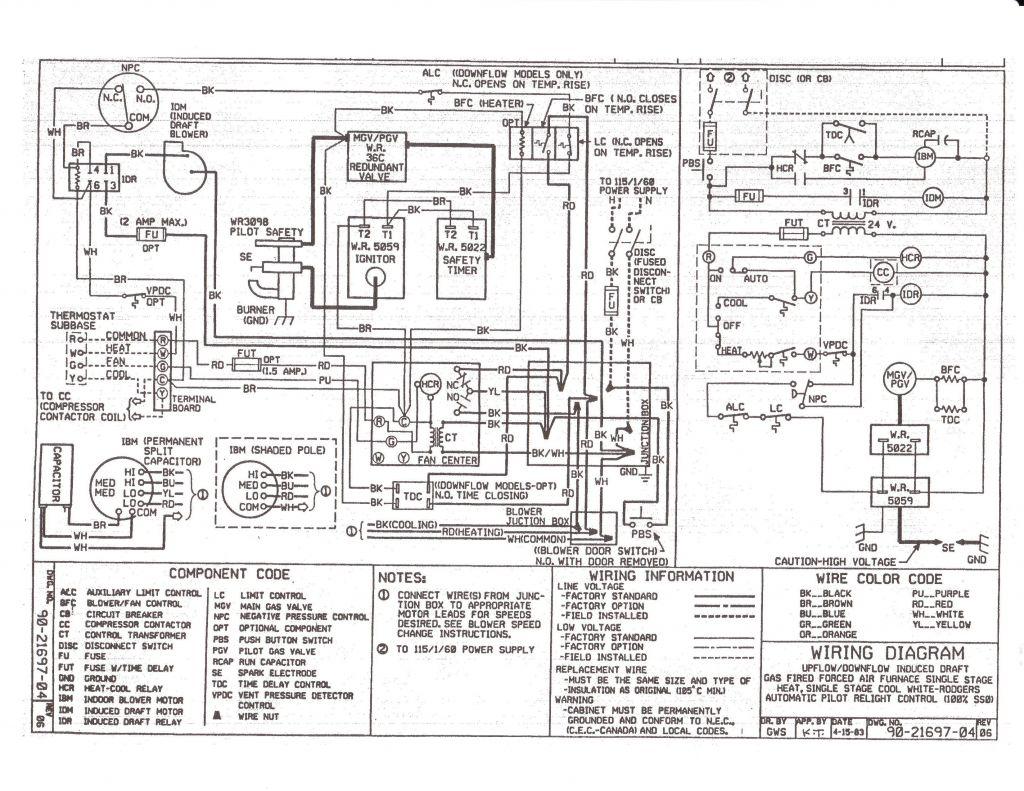Goodman Electric Furnace Wiring Diagram - Shahsramblings - Goodman Electric Furnace Wiring Diagram