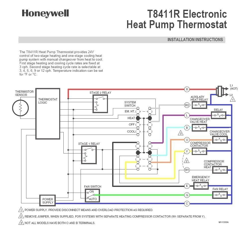 Goodman Heat Pump T Stat Wiring Diagram | Schematic Diagram - Trane Heat Pump Wiring Diagram