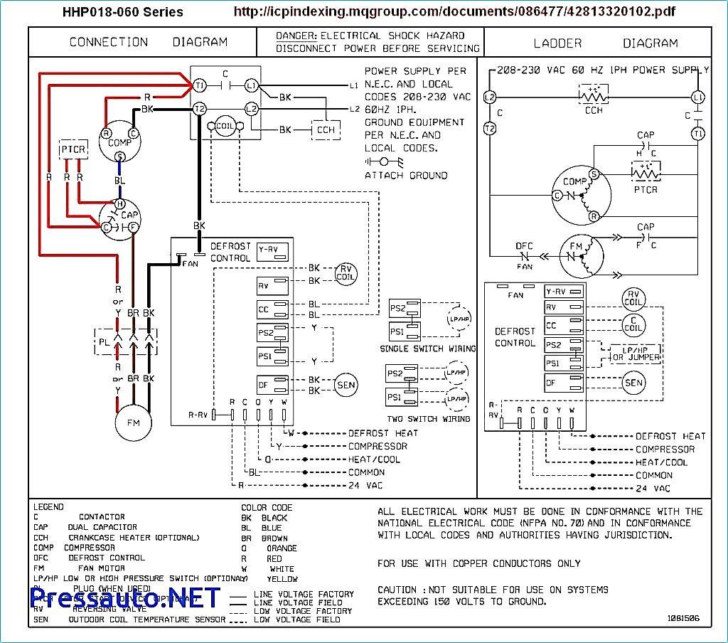Goodman Package Heat Pump Wiring Diagram | Wiring Library - Heat Pump Thermostat Wiring Diagram