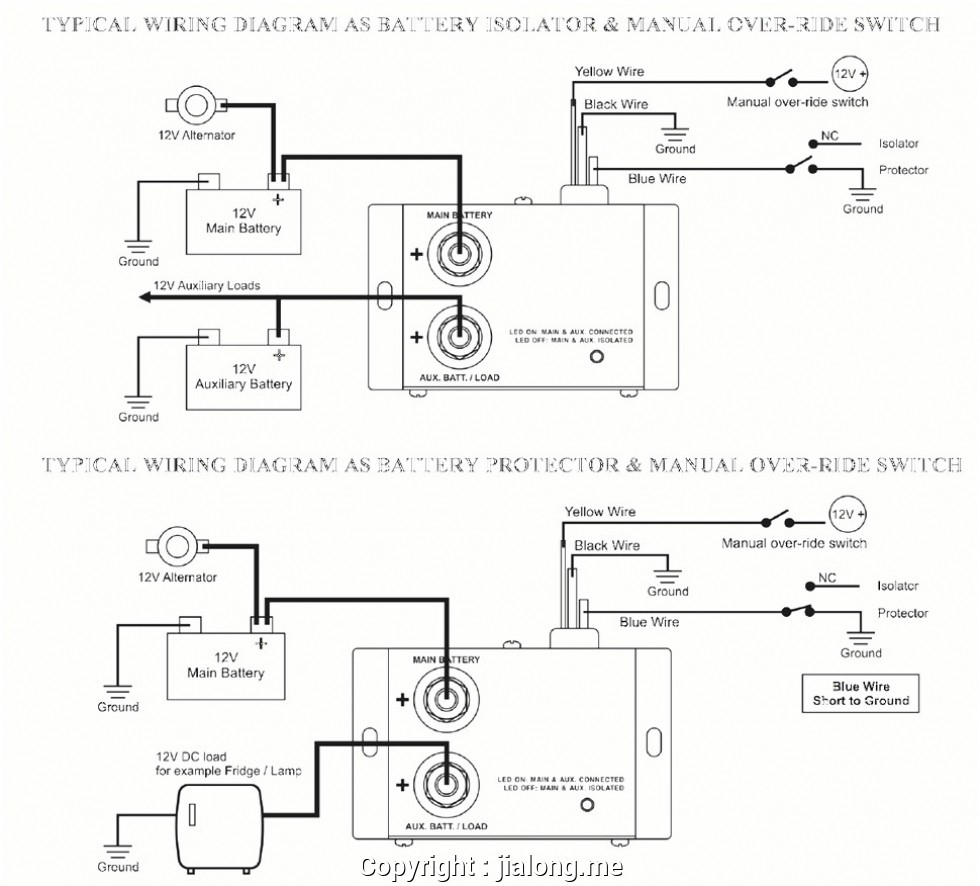 Guest 2501 Battery Isolator Wiring Diagram | Wiring Library   12V Battery Isolator Wiring Diagram