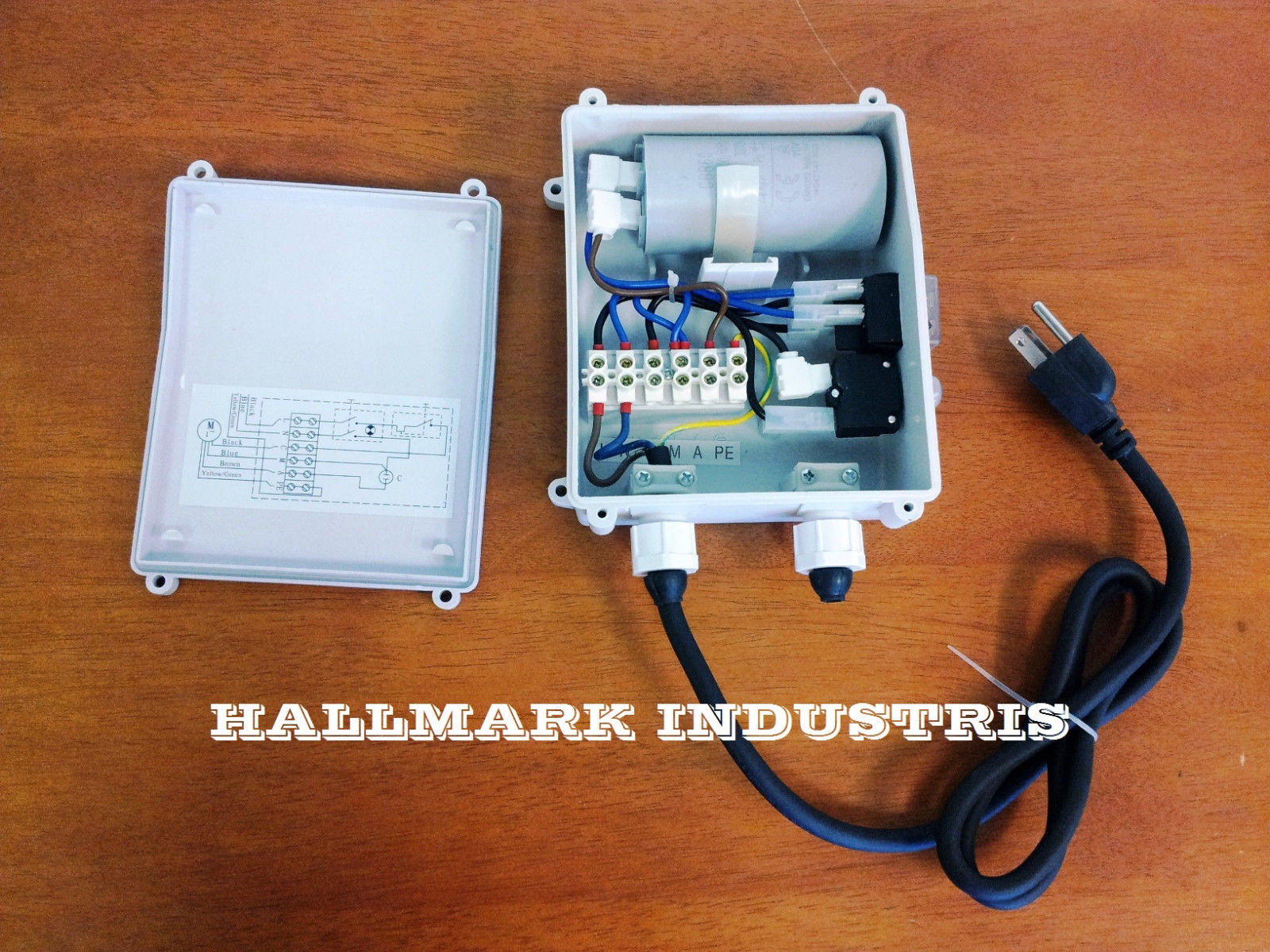 Hallmark Industries Pump Control Box - Well Pump Control Box Wiring Diagram