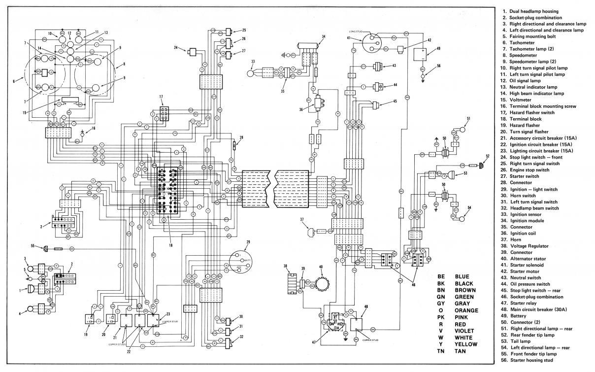Harley Davidson Schematics - Wiring Diagram Name - Harley Turn Signal Wiring Diagram