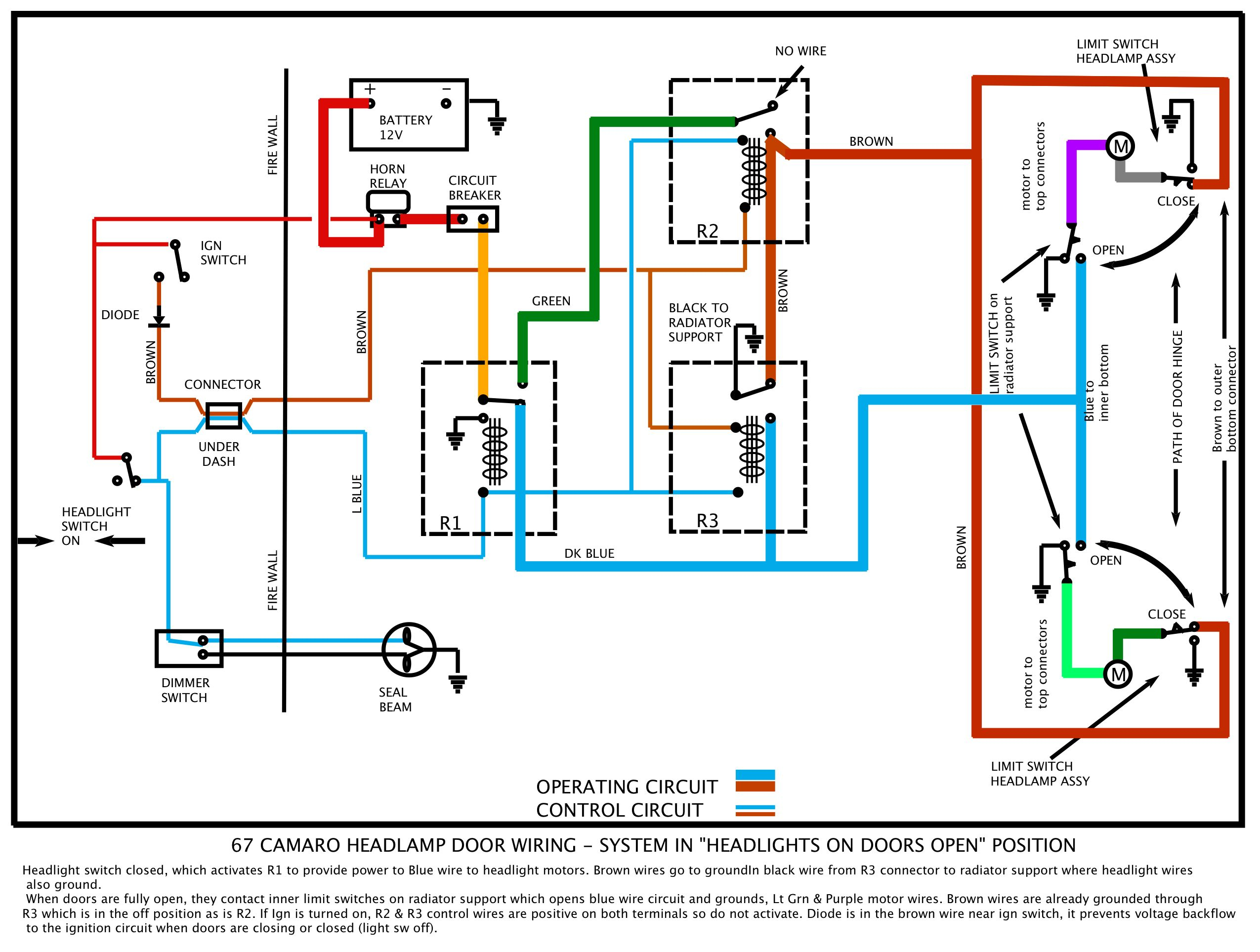 Headlight Wiring Diagram - Wiring Diagram Explained - Headlight Switch Wiring Diagram