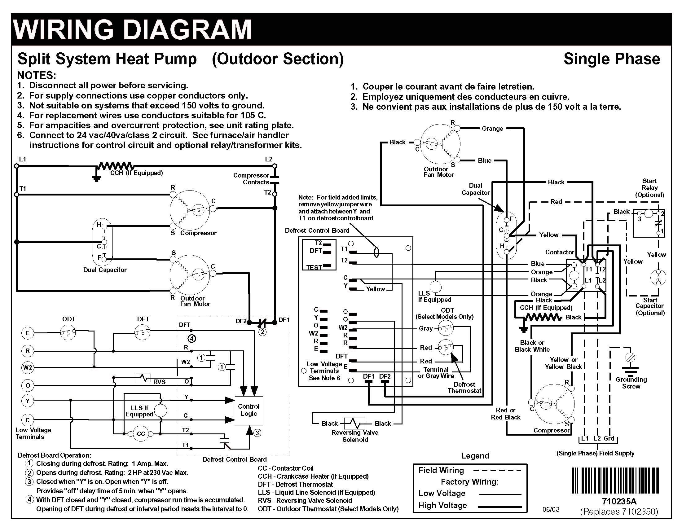 Heat Pump Wiring Schematic - Data Wiring Diagram Today - Heatpump Wiring Diagram