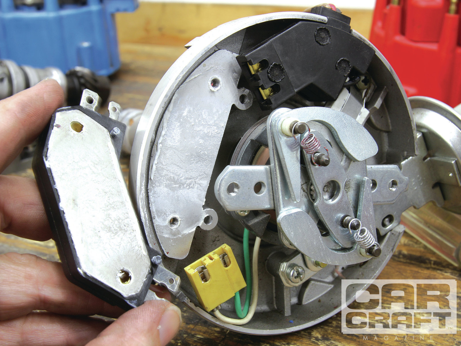 Hei Distributor Tune-Up - Hot Rod Network - Chevy Hei Distributor Wiring Diagram