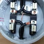 Hialeah Meter Co. Wiring Diagram For Single Phase, Fm 2S, 240V, 200   Electric Meter Wiring Diagram