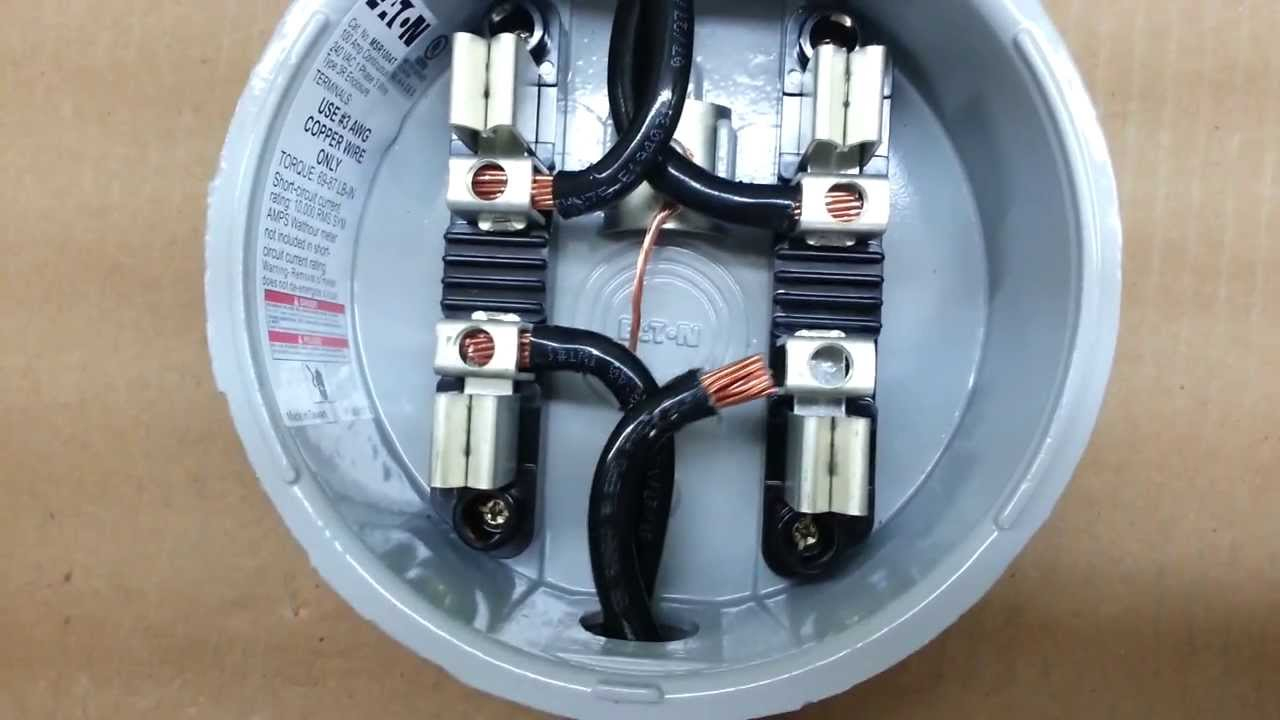 Hialeah Meter Co. Wiring Diagram For Single Phase, Fm 2S, 240V, 200 - Electric Meter Wiring Diagram
