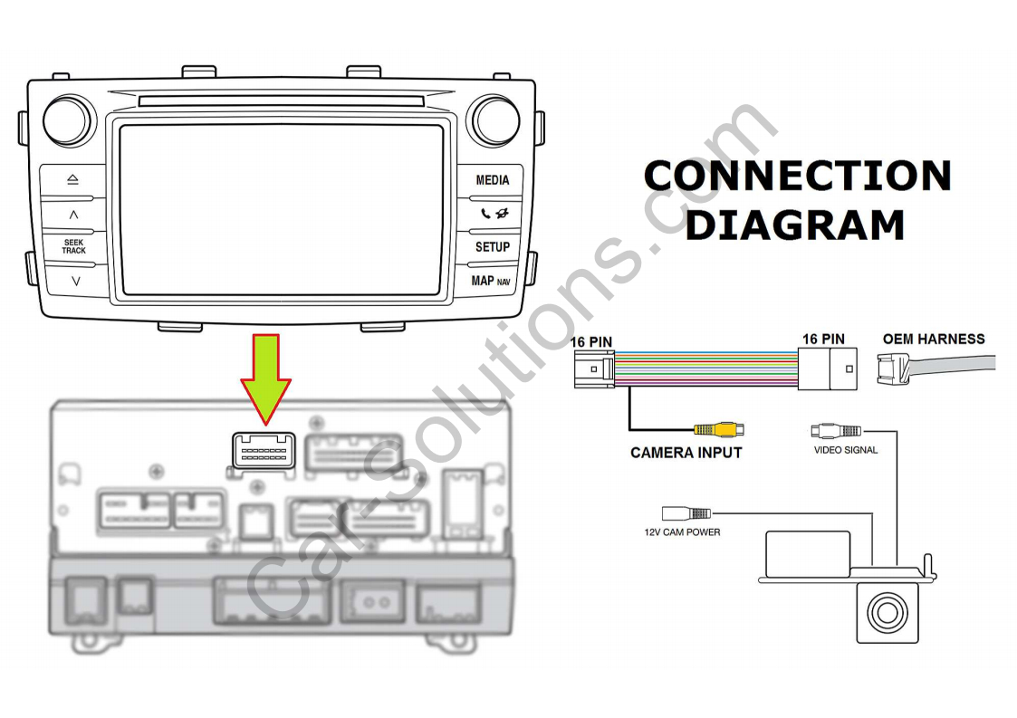 Hilux Reverse Camera Wiring Diagram | Wiring Diagram - Toyota Tundra Backup Camera Wiring Diagram