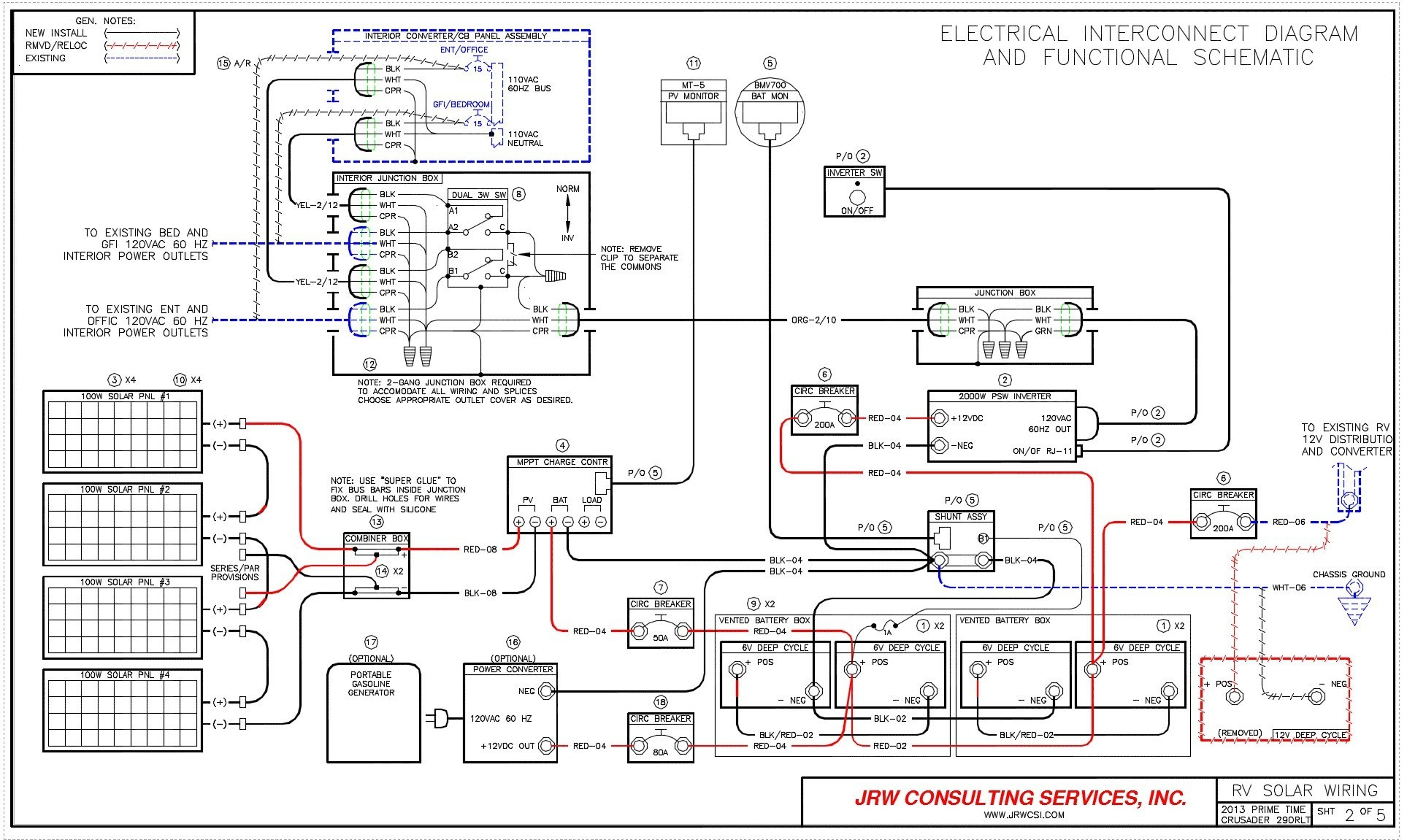 Holiday Rambler Rv Wiring Diagram - Data Wiring Diagram Today - Monaco Rv Wiring Diagram