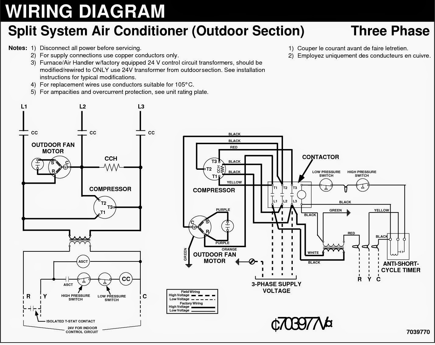 Home Air Conditioner Wiring Diagram - Wiring Diagrams Hubs - Air Conditioner Wiring Diagram