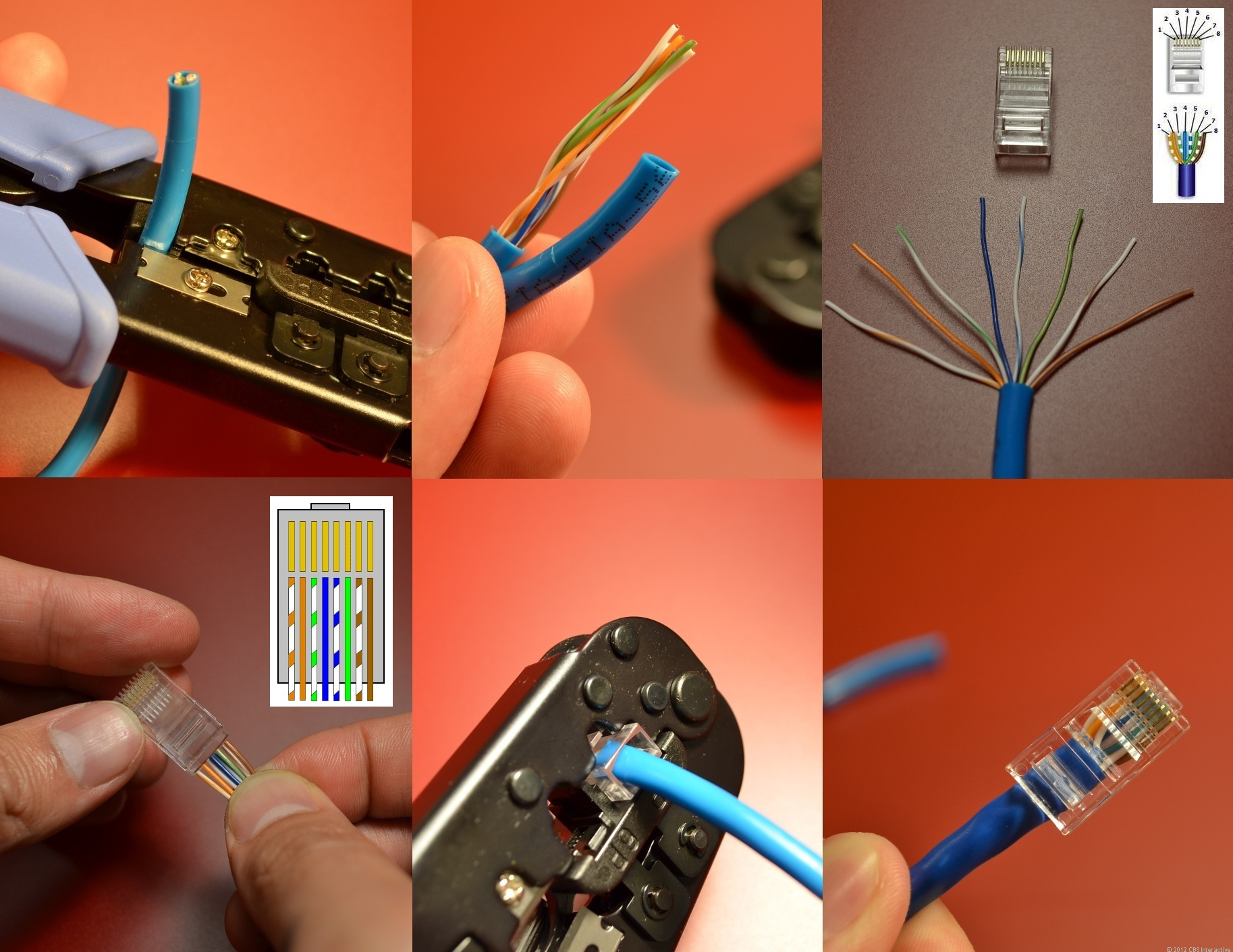 Home Networking Explained, Part 3: Taking Control Of Your Wires - Cnet - Cat6 Wiring Diagram