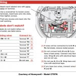Honeywell 4 Wire Thermostat Wiring Diagram | Manual E Books   4 Wire Thermostat Wiring Diagram