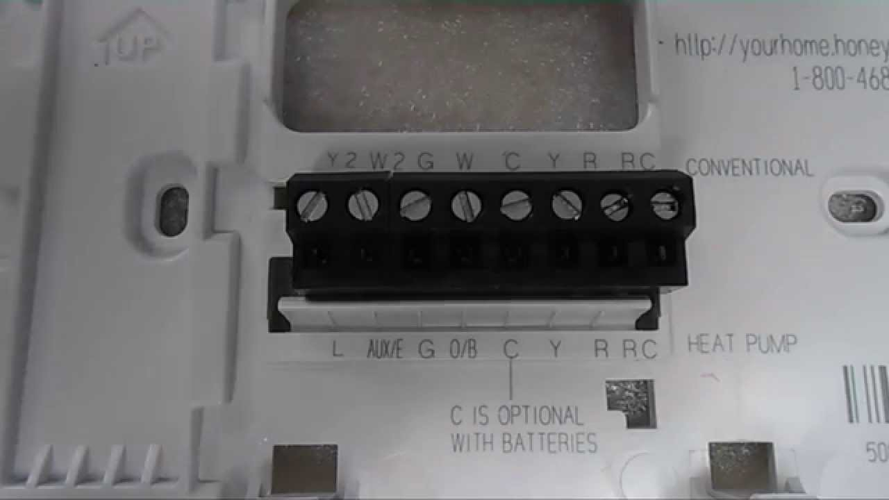 Honeywell 5000 Heat Pump Wiring Color Code - Wiring Diagrams Hubs - Honeywell Heat Pump Thermostat Wiring Diagram