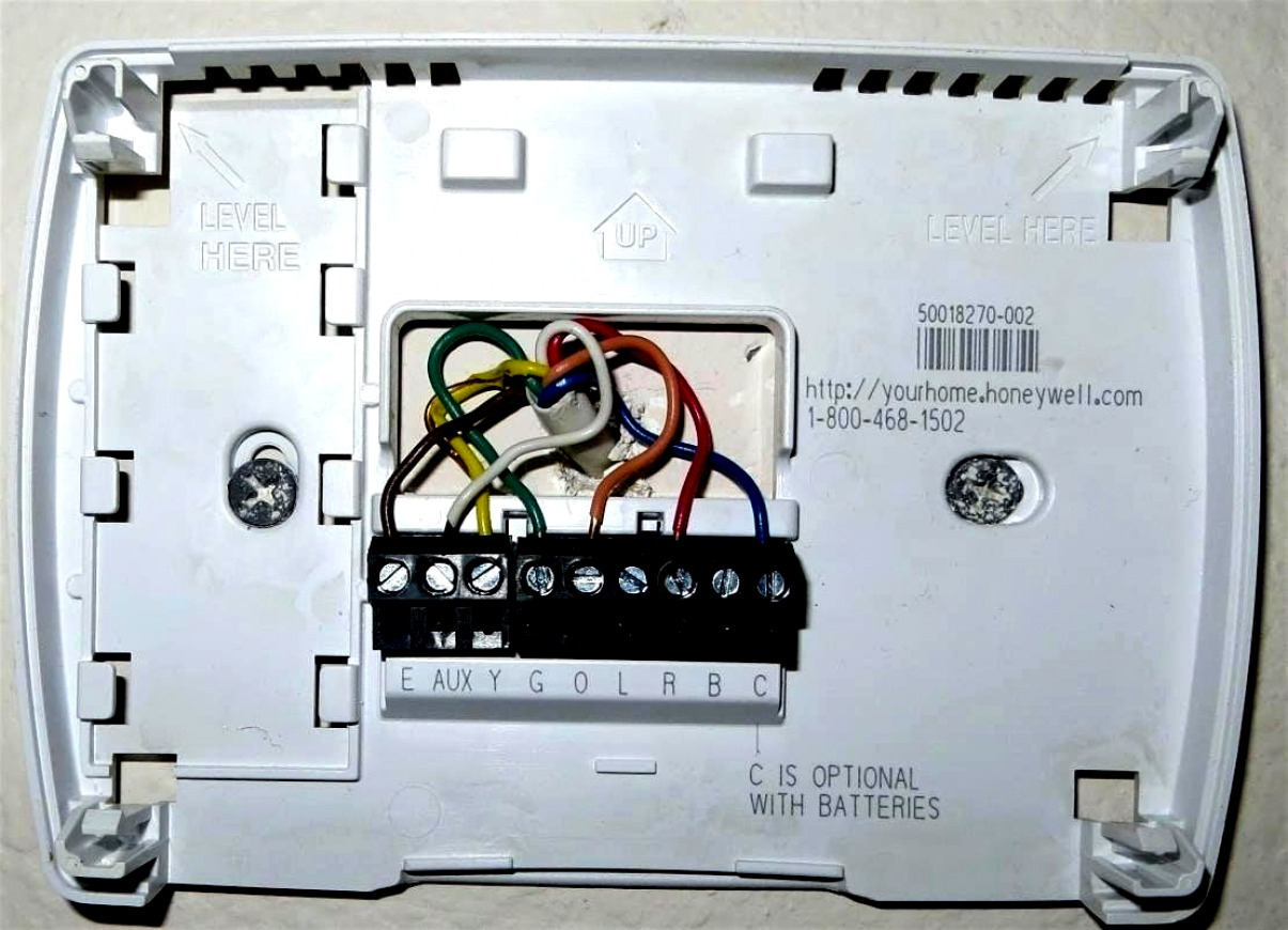 Honeywell Rth6450 Thermostat Wiring Diagram - Wiring Diagrams Click - Wiring Diagram For Honeywell Thermostats