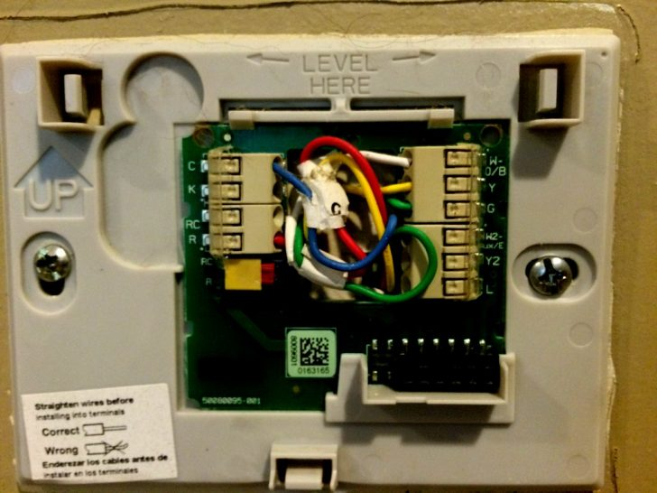 Honeywell Wifi Thermostat Wiring Diagram