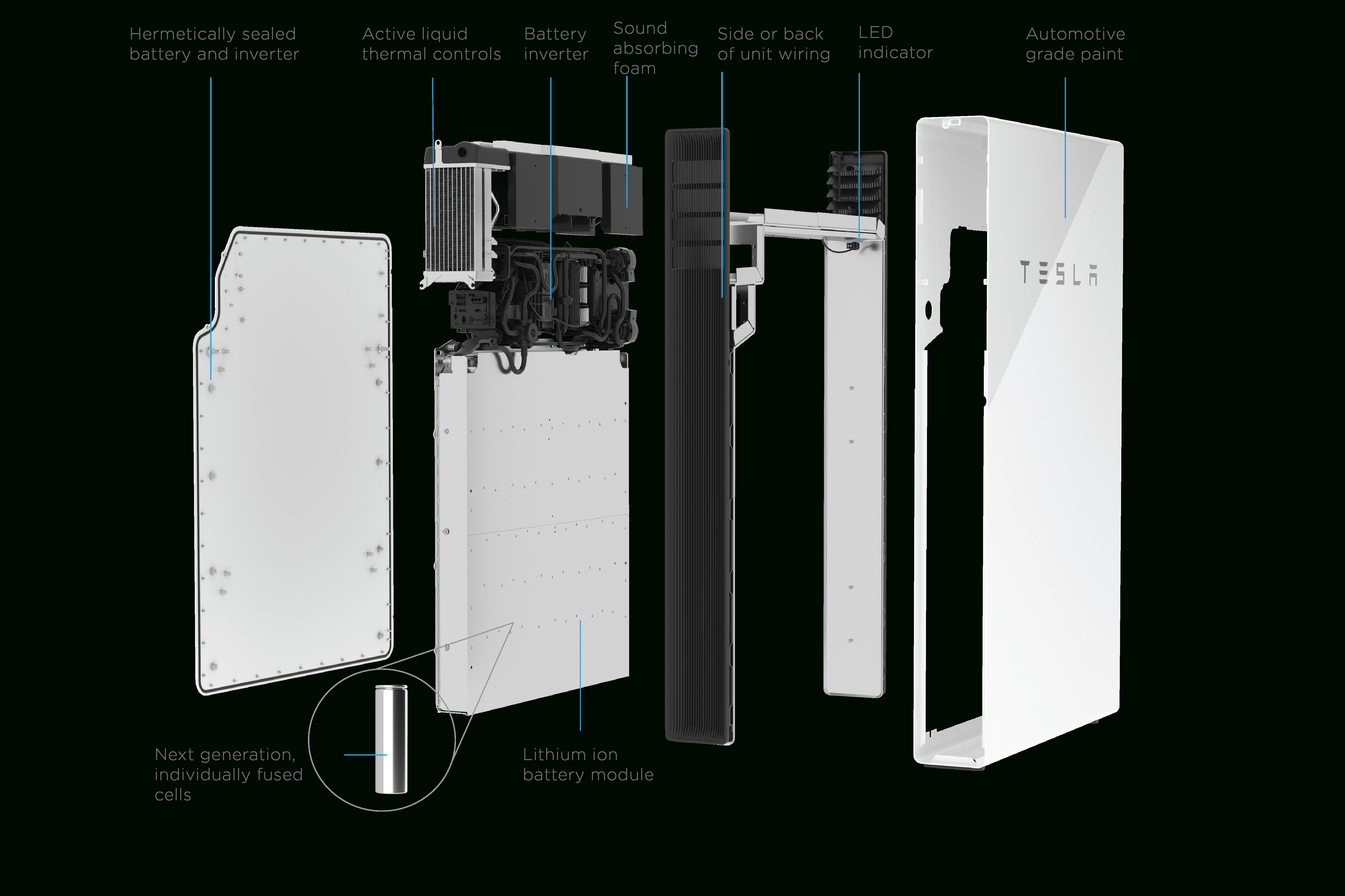 Hot: Tesla Powerwall To Get New Features, Higher Prices | Cleantechnica - Tesla Powerwall 2 Wiring Diagram