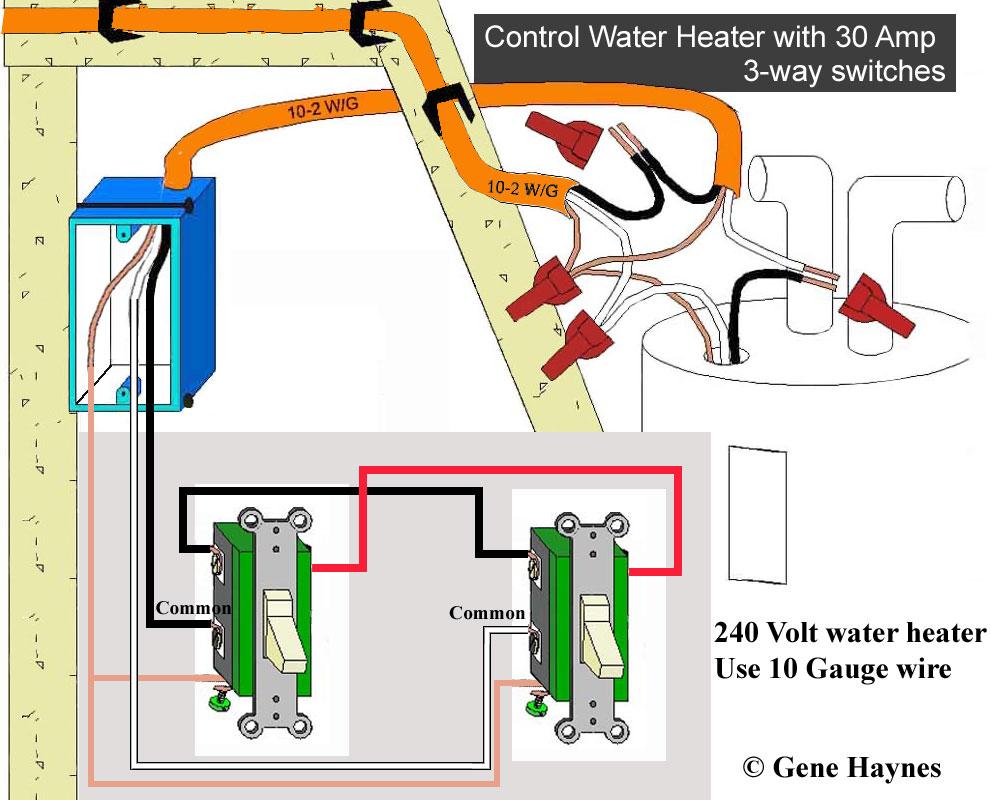 Hot Water Heater 240V Wiring | Wiring Diagram - 240V Water Heater Wiring Diagram