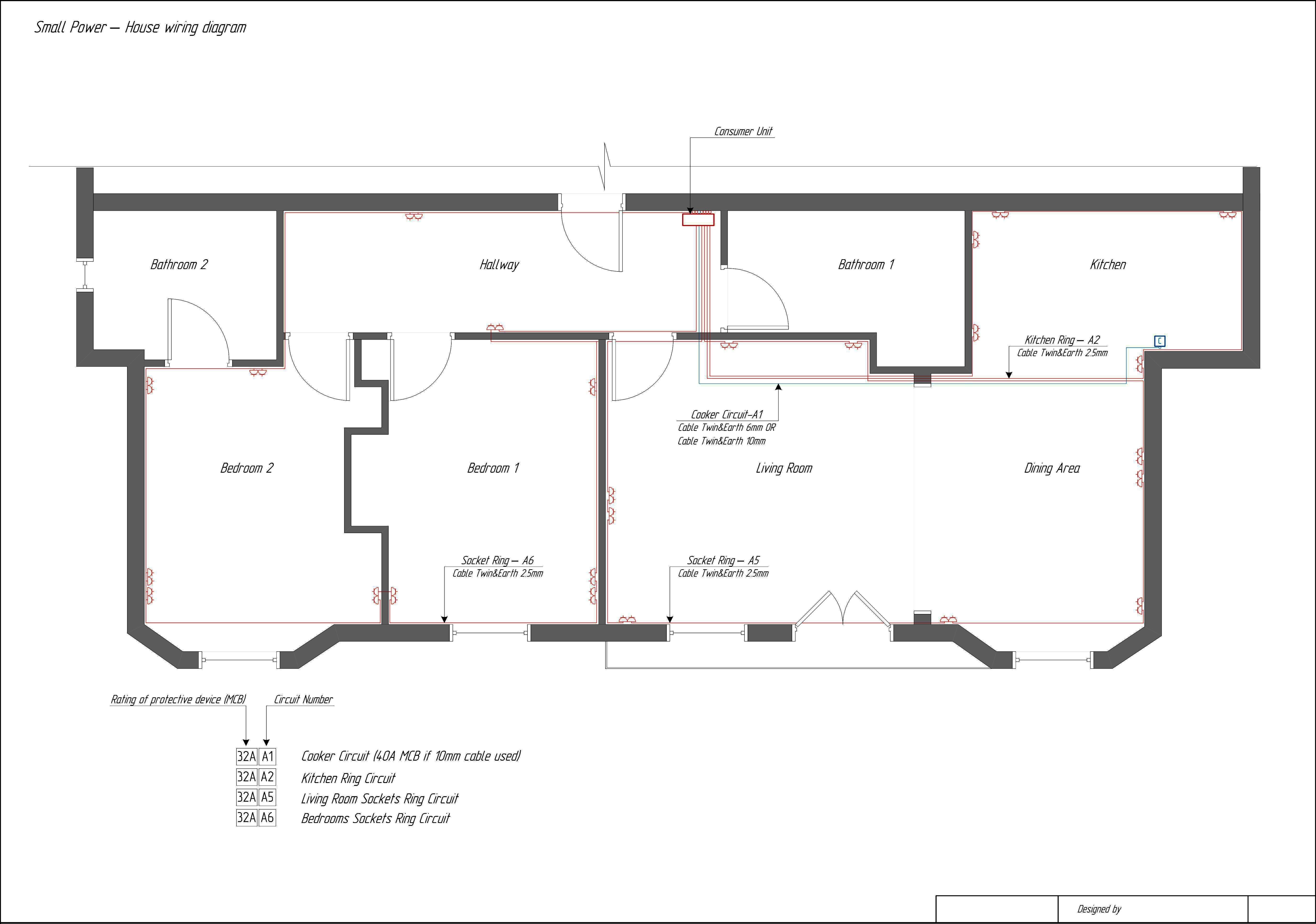 House Schematic Wiring Diagram - Wiring Diagrams Thumbs - Residential Wiring Diagram