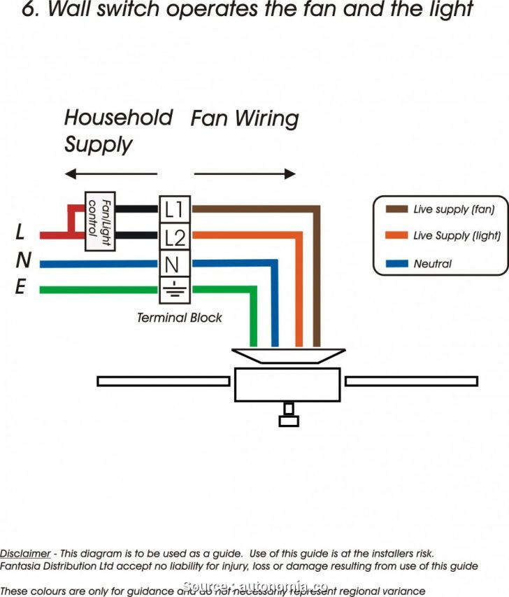 4 Wire Ceiling Fan Switch Wiring Diagram