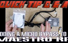 How To Add A Micro Bypass To A Maestro Rr Harness For A Pioneer   Maestro Rr Wiring Diagram