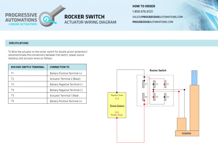 Illuminated Rocker Switch Wiring Diagram
